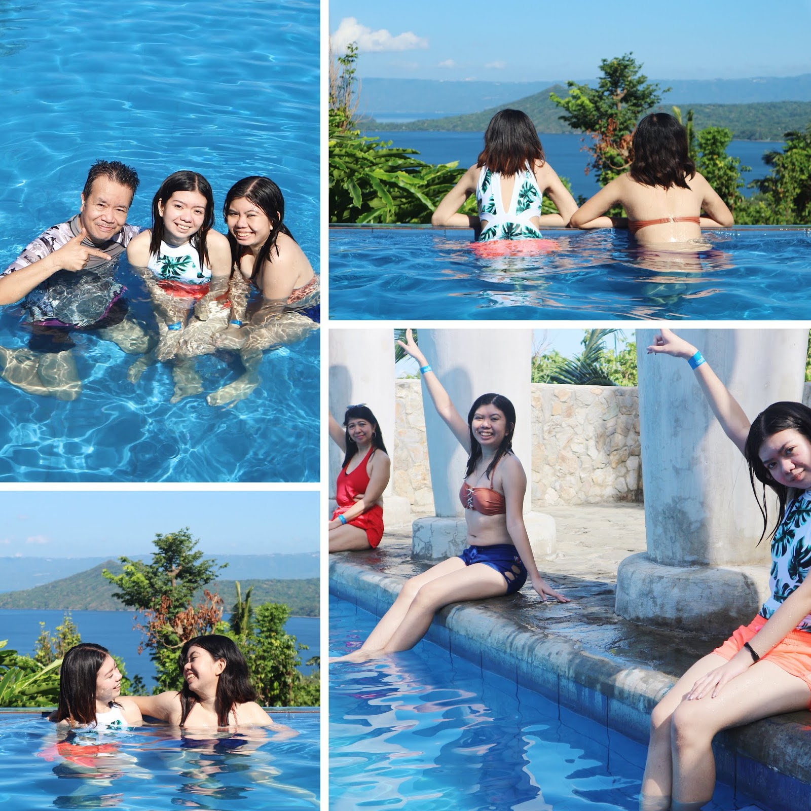 Shercon Resort and Ecology Park Greece Inspired Pool viewing Taal Volcano