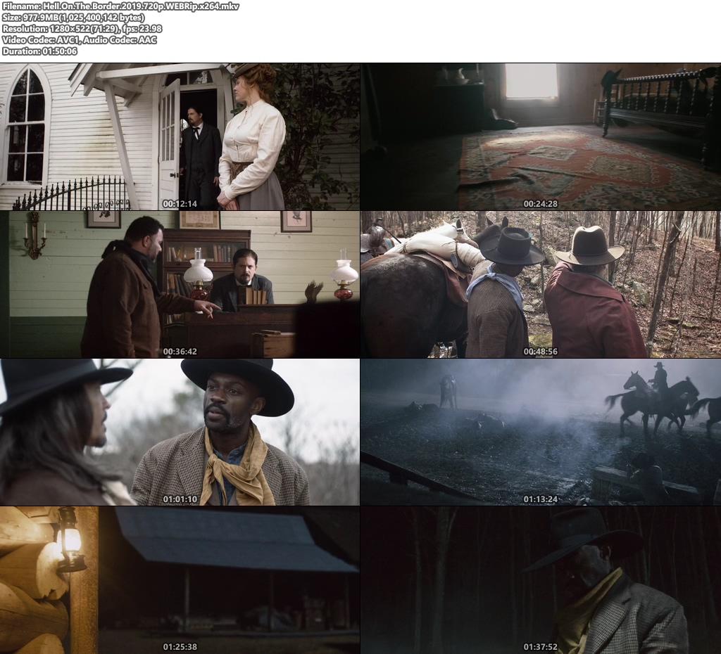 Hell On The Border 2019 720p WEBRip x264 | 480p 300MB | 100MB HEVC Screenshot