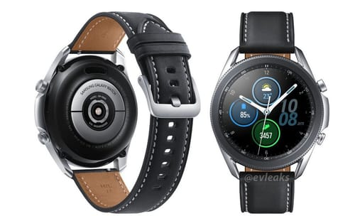 The latest leakage of the Galaxy Watch 3 design appears more clearly
