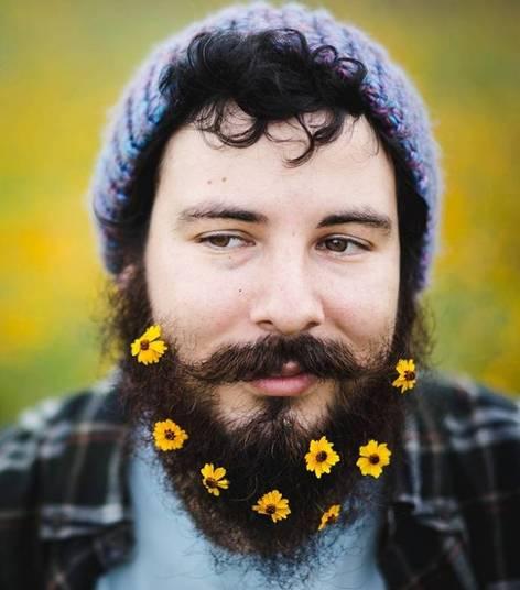 Barba Masculina enfeitada (2)