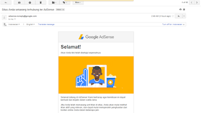 Jual Akun Google AdSense Non Hosted 2017 Full Approve