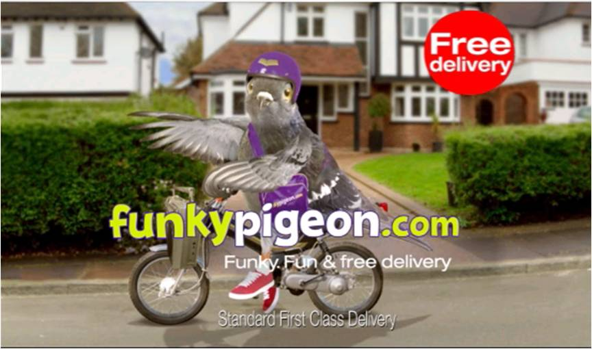 Days 2012: Funky Pigeon