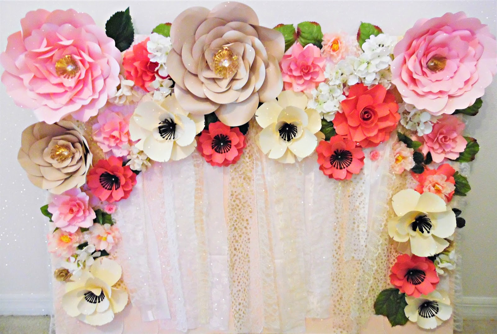 Tissue Paper Flower Decorations Nurufunicaasl