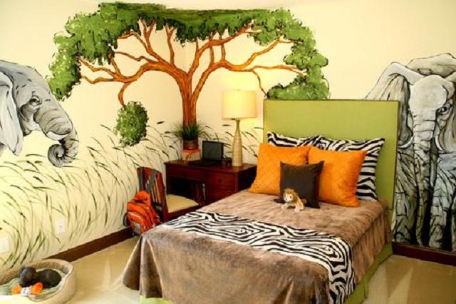 Dormitorios infantiles de safari - Disenos de habitaciones infantiles ...