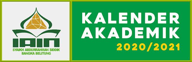 Kalender Akademik IAIN SAS BANGKA BELITUNG Tahun Akademik 2020/2021
