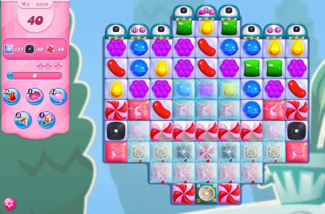 Candy Crush Saga level 9520