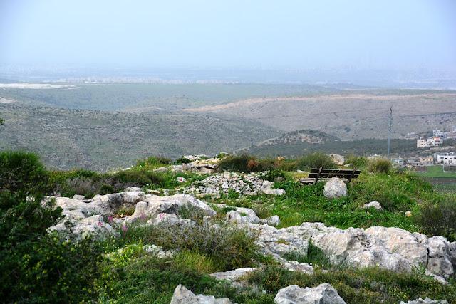 israeli landscape המצפור של המדינה