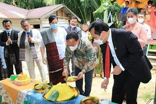 Wakil Bupati Tapteng Hadiri Pesta Jubileum 55 Tahun Gereja HKBP Poriaha Jae
