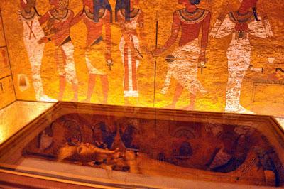 Εντυπωσιακές φωτογραφίες από τον τάφο του Τουταγχαμών μετά τη συντήρηση