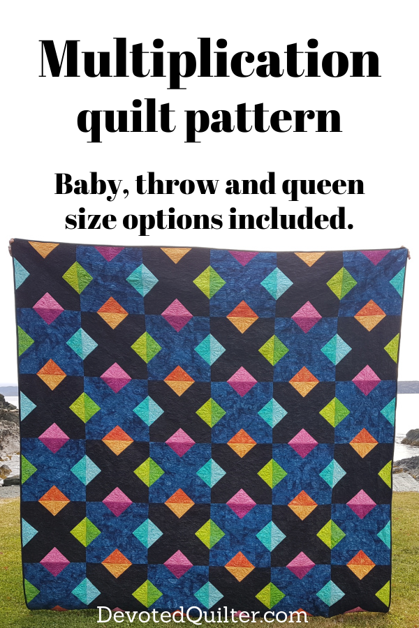 Multiplication quilt pattern | DevotedQuilter.com
