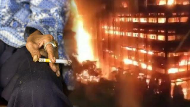 Rokok Jadi Pemicu, Kuli & Mandor Tersangka Kebakaran Gedung Kejagung