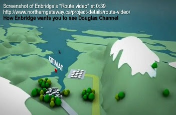 Douglas Channel, Enbridge.
