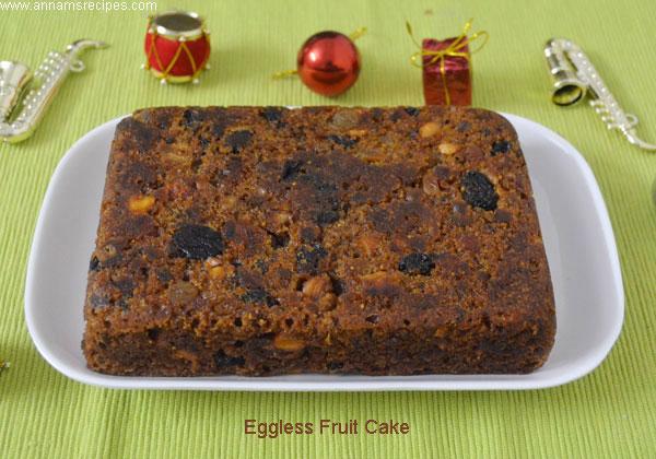 Cake Apple Dry Grapes Almond Recipe