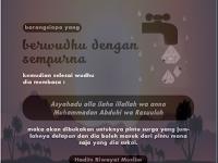 MAKNA WUDHU ( BERSUCI )