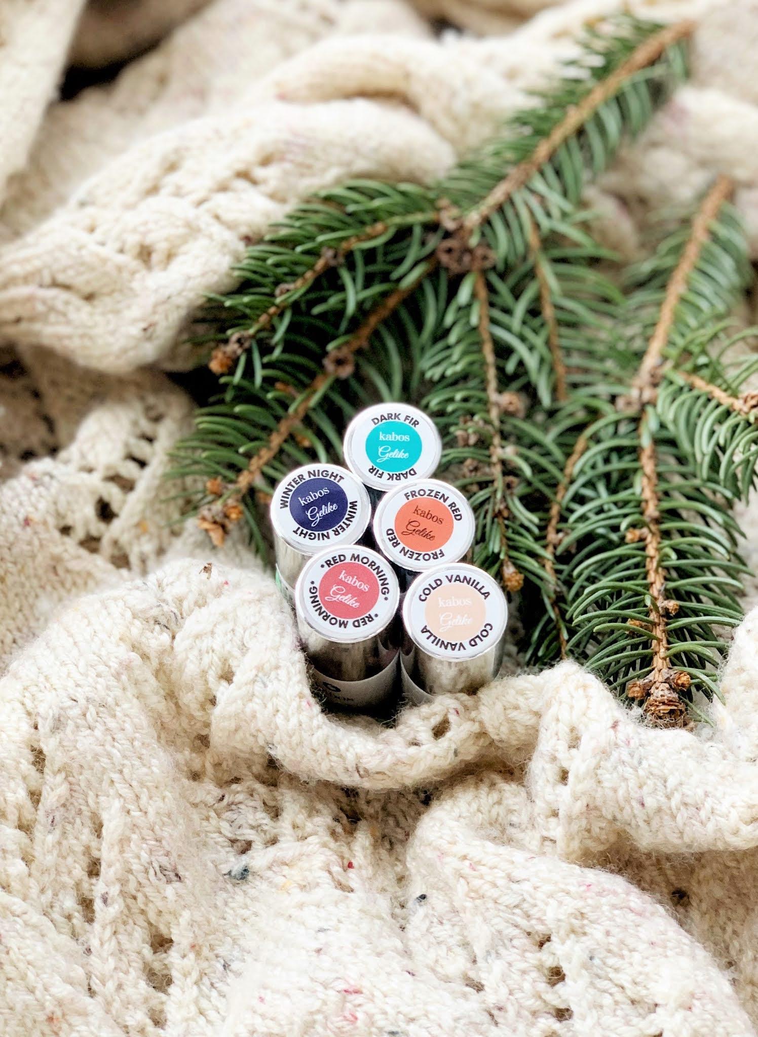 Winter Nails Kabos Gelike - zimowe lakiery do paznokci