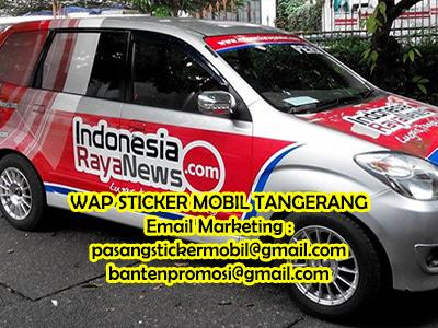 Pasang Stiker Mobil Jakarta