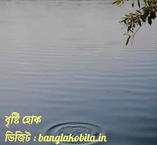 বাংলা কবিতা-বৃষ্টি হোক