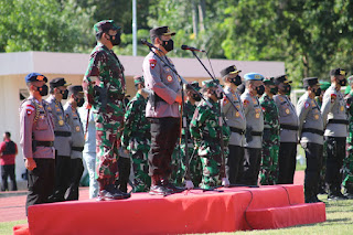 Cek Kesiapan Akhir, Panglima TNIp Didampingi Pangdam XVII/Cenderawasih Tinjau Pengamanan PON XX