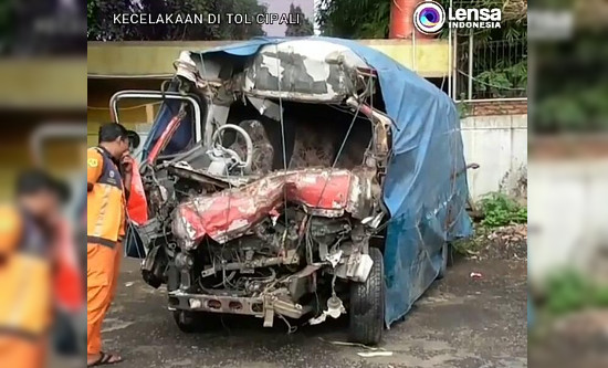Begini Kronologi Kecelakaan di KM 78 Tol Cipali yang Menewaskan 10 Orang