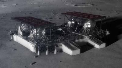 O conceito de tamanho médio da NASA pode entregar um grande veículo espacial à Lua