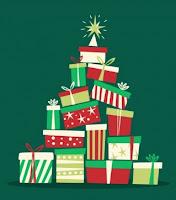 Arbol de navidad con regalos