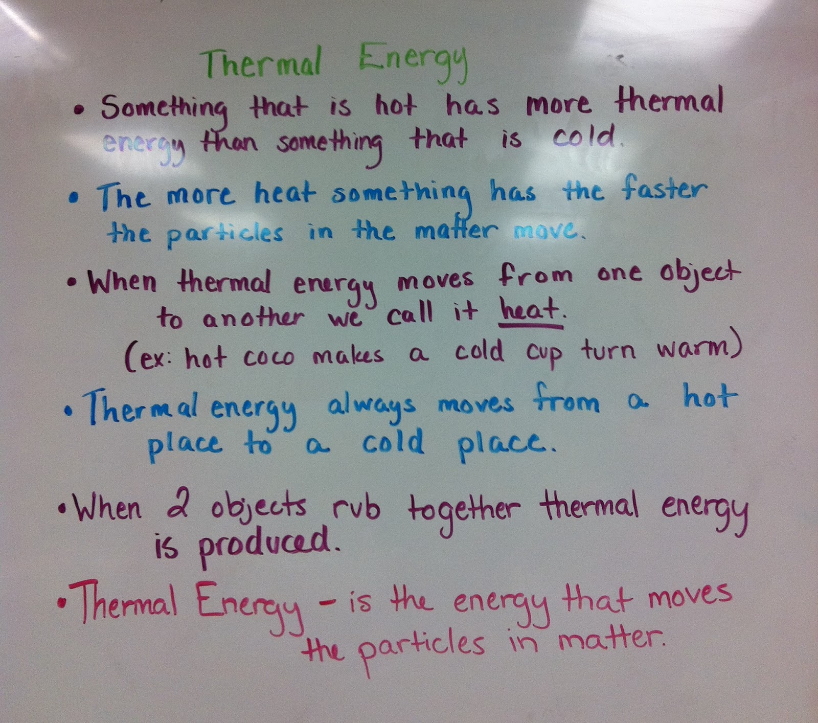 The Third Grade Scoop Thermal Energy Notes