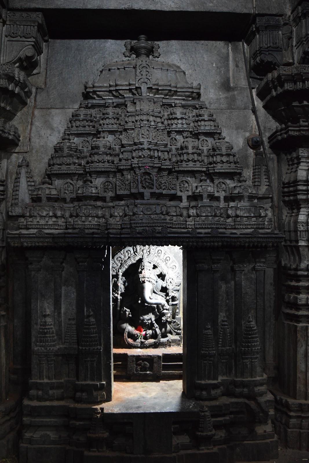 Ganapathi image inside lakshminarayana temple hosaholalu