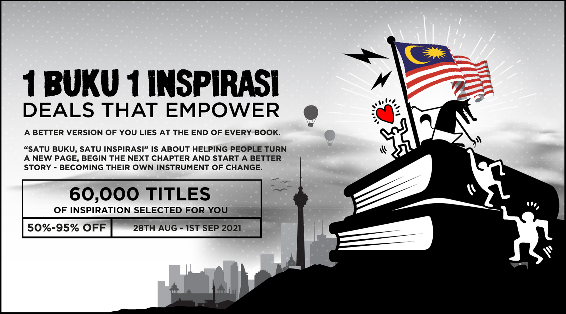 1 Buku 1 Inspirasi Campaign By Big Bad Wolf Books