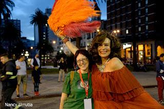 Divina Valeria. Desfile Inaugural del Carnaval. Revista Tabú. Graciela Guffanti