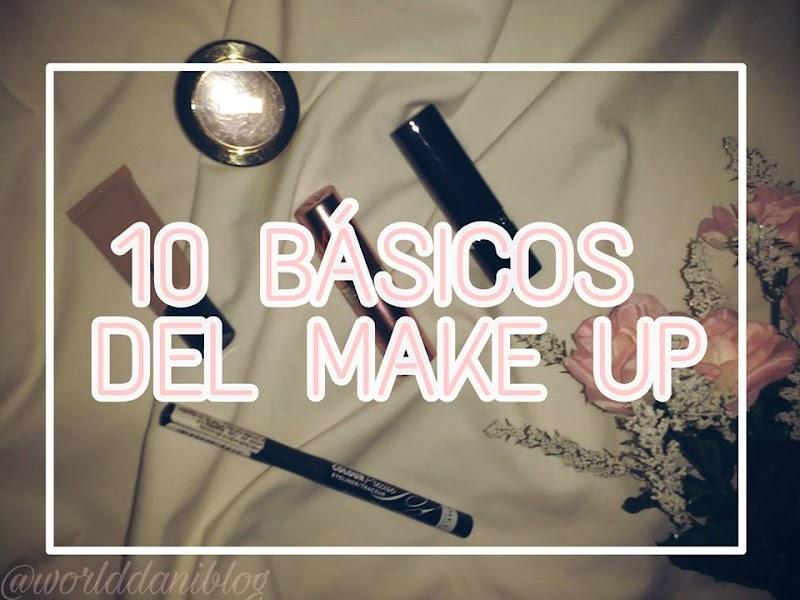 10 BASICOS DEL MAKE UP!