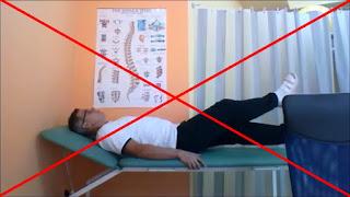 ćwiczenia nożyce poziome mięśnie brzucha