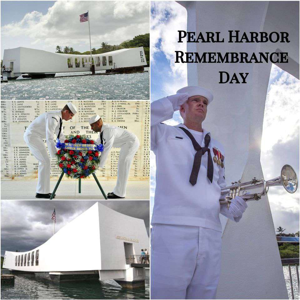 National Pearl Harbor Day of Remembrance Wishes for Whatsapp