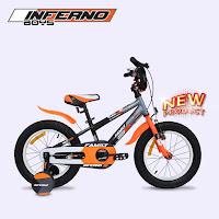sepeda bmx anak family inferno boy kids bike