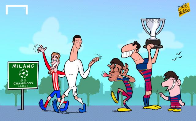 Barcelona Win La Liga