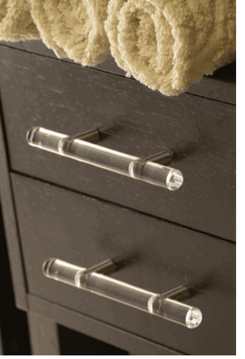 the cuban in my coffee acrylic pulls for the kitchen and bath part 1. Black Bedroom Furniture Sets. Home Design Ideas
