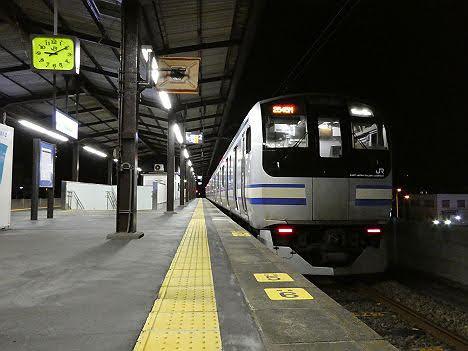 【ダイヤ改正後に消滅へ!】鹿島線 佐原行き E217系