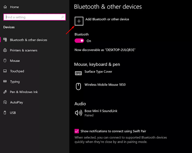 كيفية توصيل AirPods بجهاز كمبيوتر يعمل بنظام Windows 10
