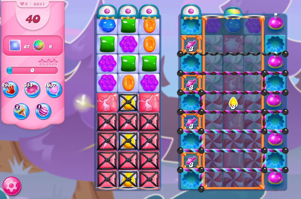 Candy Crush Saga level 8641