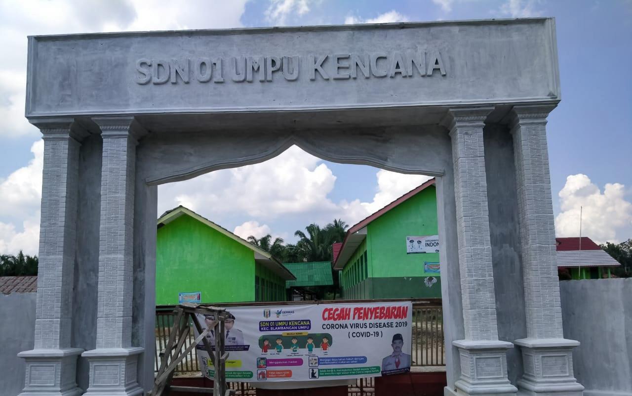 Kepala SDN Umpukencana Menampik Dugaan Korupsi Dana Bos