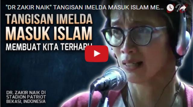 Inilah Sesi Paling Mengharukan Selama Dr Zakir Naik di Indonesia