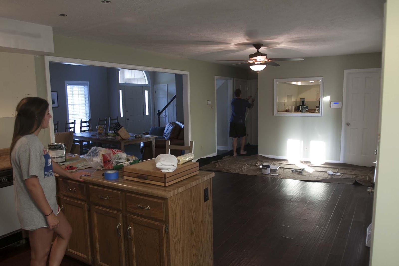 How To Paint Kitchen Cabinets Without Streaks The English 39s Our Kitchen My Favorite Room In The House