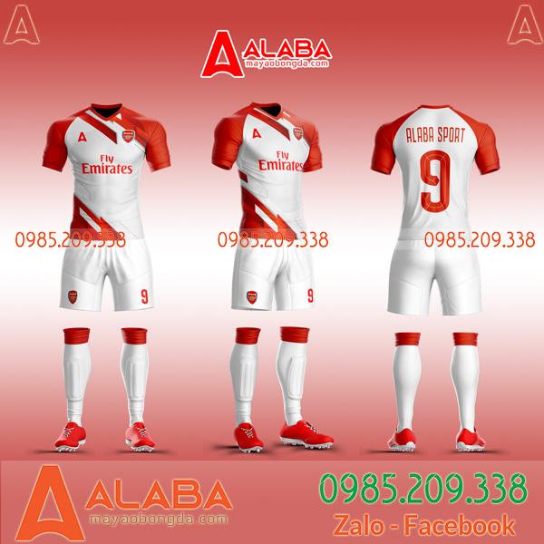 Áo clb Arsenal 2020 đỏ