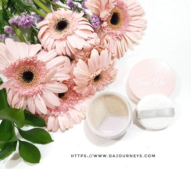 Review Jacquelle Ultra Fine Tone Up Powder