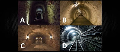 Figure: Which tunnel would you choose?