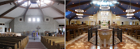 Before and After: St. Elizabeth Ann Seton in Pickerington, Ohio