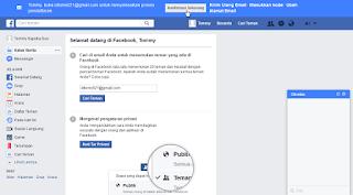 Konfirmasi pendaftaran facebook melalui email