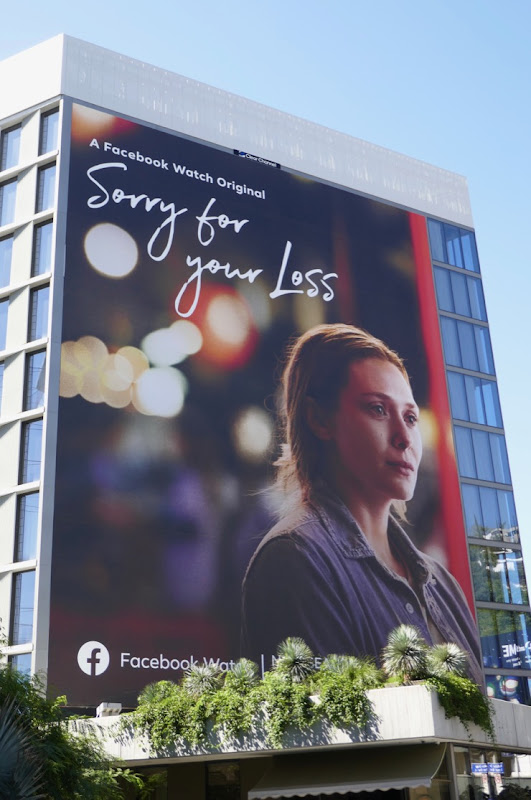 Giant Sorry for Your Loss season 2 billboard