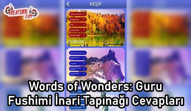 Words of Wonders: Guru Fushimi İnari Tapınağı Cevapları