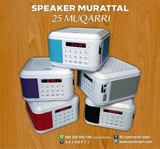 Speaker Murattal 25 Muqarri