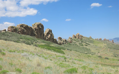 Devil's Backbone, Loveland Colorado from the northeast